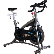 Sunny Health and Fitness Magnetic Belt Drive Commercial Indoor Cycling Bike