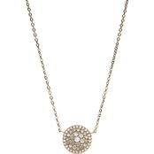 Fossil Vintage Glitz Crystal Necklace