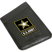 Guard Dog U.S. Army Card Keeper Leather Phone Wallet With RFID Protection