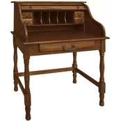 Chelsea Home Furniture 32 in. Mini Roll Top Desk