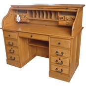 Chelsea Home 54 in. Roll Top Desk