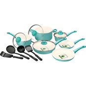 GreenLife Cook's Essentials Soft Grip 14 pc. Set