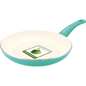 GreenLife Cook's Essentials Soft Grip 12 in. Open Frypan
