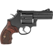 S&W 586 357 Mag 3 in. Barrel 7 Rnd Revolver Black