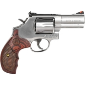 S&W 686 Plus Deluxe 357 Mag 3 in. Barrel 7 Rnd Revolver Stainless Steel