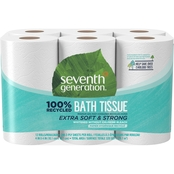 Seventh Generation Bathroom Tissue, 2 Ply