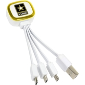 QuikVolt US Army Tri-Charge USB Cable