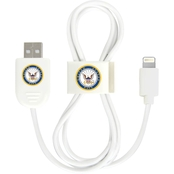 QuikVolt US Navy Lightning USB Cable with QuikClip