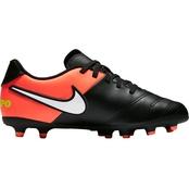 f9ca33e9659 Nike Jr Boys Tiempo Rio III FG Cleats
