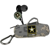 AudioSpice U.S. Army Scorch Earbuds With Camo BudBag