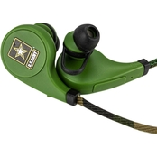 AudioSpice U.S. Army Scorch Earbuds with Mic and Camo BudBag