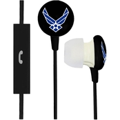 AudioSpice U.S. Air Force Ignition Earbuds with Mic