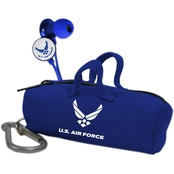 AudioSpice U.S. Air Force Scorch Earbuds With Camo BudBag