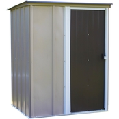 Arrow Brentwood 5 x 4 ft. Pent Roof Steel Storage Shed