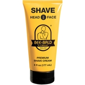 Bee Bald Shave Premium Shave Cream 6 Oz.