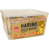 Haribo Gummi Bears 54 ct. Tub