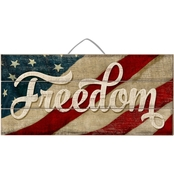 Highland Freedom Slat Sign