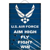 Highland Air Force Aim High Slat Sign