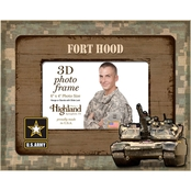 Highland Army 4 x 6 3D Photo Frame