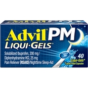 Advil PM Liqui-Gels Capsules, 40 ct.