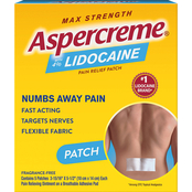Aspercreme Lidocaine Patch 5 pk.