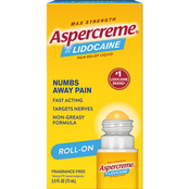 Aspercreme Lidocaine No Mess Roll On