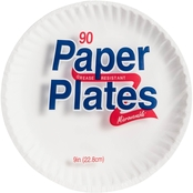 Solo Coated 9 in. Paper Plate 90 Ct.