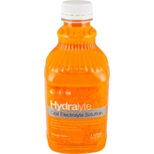 Hydralyte Oral Electrolyte Solution Orange Flavor 1.1 Qt.