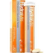 Hydralyte Effervescent Electrolyte Tablet Orange Flavor 20 Pk.