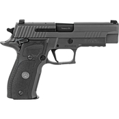 Sig Sauer P226 Legion SAO 9mm 4.4 in. Barrel 10 Rnd 3 Mag Pistol Legion Gray