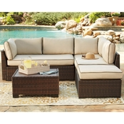 Ashley Loughran Sectional with Cocktail Table