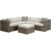 Ashley Peckham Park Sectional with Ottoman