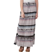 Joe B Juniors Gauze Maxi Skirt