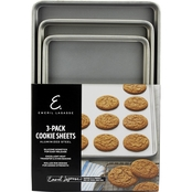 Emeril Lagasse Aluminized Steel Nonstick 3 pc. Cookie Sheet Set