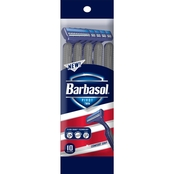 Barbasol Pivot Twin Razors, 10 count