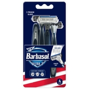 Barbasol Ultra 3 Razors, 4 count