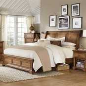 aspenhome Alder Creek Sleigh Bed