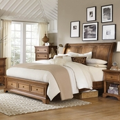 aspenhome Alder Creek Storage Sleigh Bed