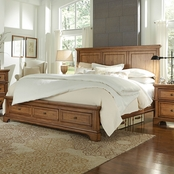 aspenhome Alder Creek Storage Panel Bed