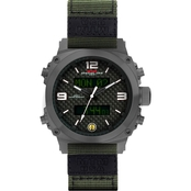 MTM Special Ops Men's Air Stryk I Watch 45mm AS1GWHNYGN