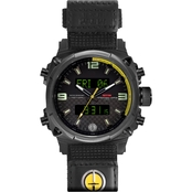 MTM Special Ops Men's Air Stryk II ASIICY Ballistic Velcro II 45mm Watch AS2BCYDBV2