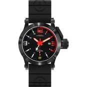 MTM Special Ops Men's Hypertec 44mm Watch H44BREDBKR2