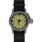 MTM Special Ops Men's Hypertec 49mm Watch H49GTANNYBK
