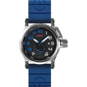 MTM Special Ops Men's Hypertec Chrono 44mm Watch HC1ASBBLBLR2