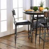 Furniture of America Mullane Metal Pub Chair 2 Pk.
