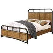 Furniture of America McVille Queen Metal Bed