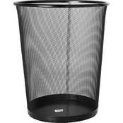 Rolodex 4.5 Gal. Steel Round Mesh Trash Can