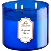 Bath & Body Works Bergamot Waters 3 Wick Candle