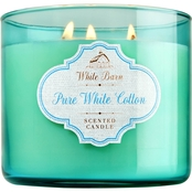 Bath & Body Works Pure White Cotton 3 Wick Candle