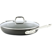 All-Clad HA1 12 in. Fry Pan With Lid